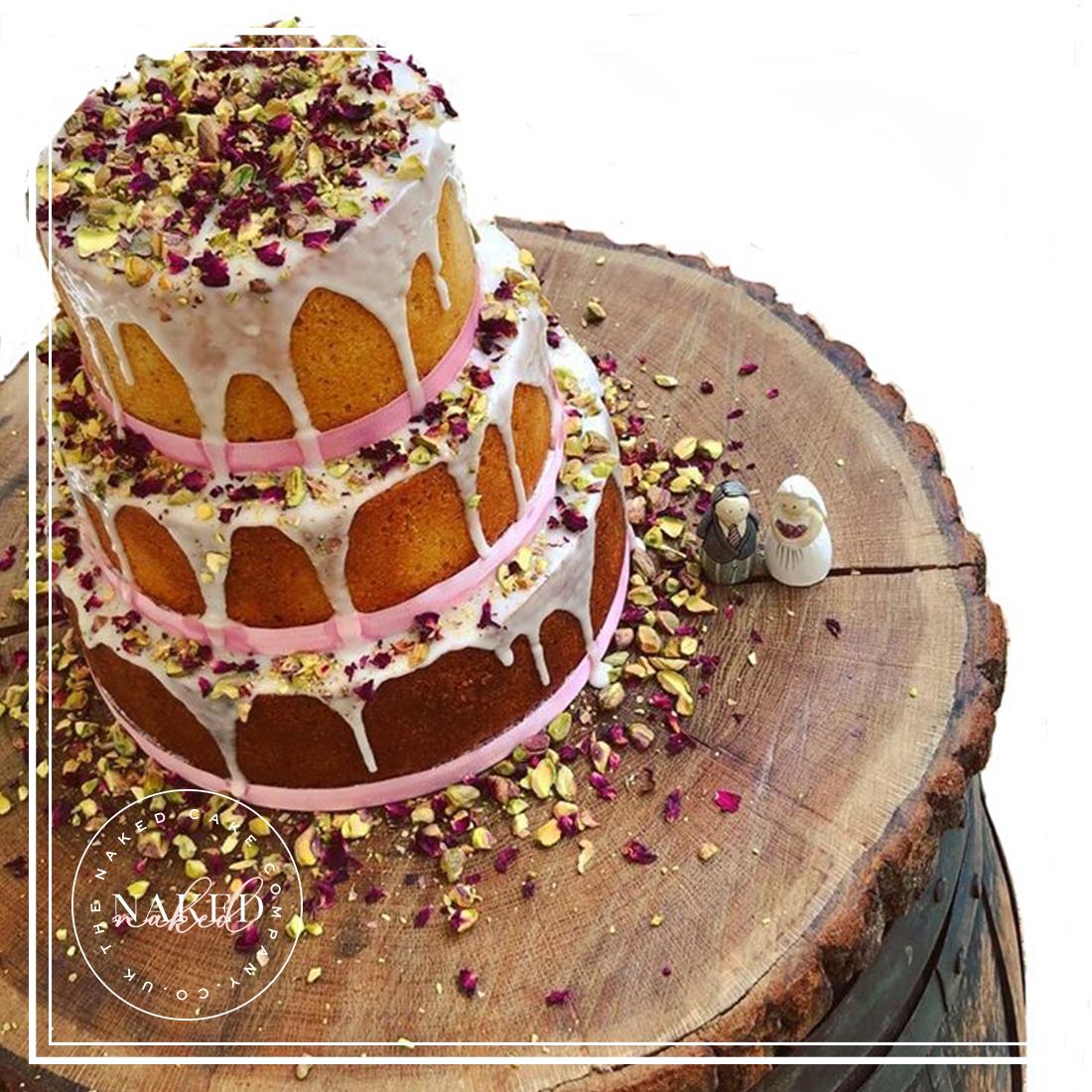Pistachio & Rose, Lemon Drizzle Cake