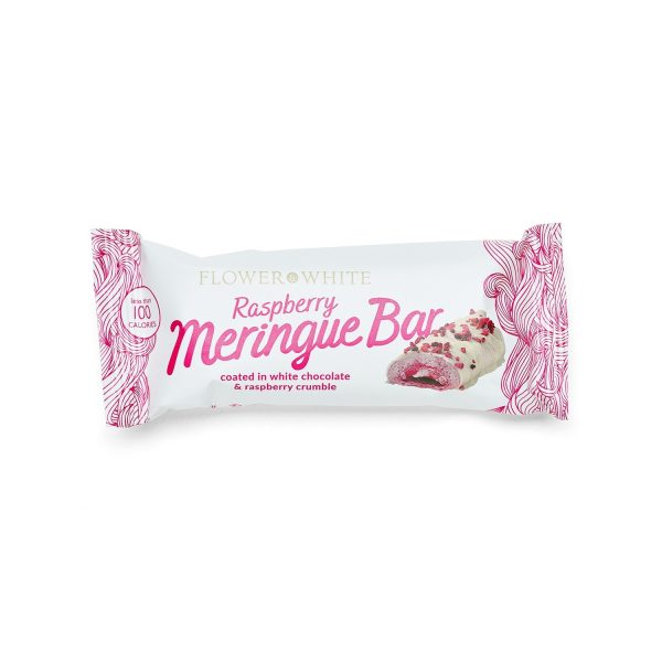 Raspberry Meringue Bar Wrapped
